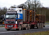 William Halliday Volvo FH12 SG52WSW on the M6, Carlisle, 23/3/15 (andyflyer) Tags: truck lorry carlisle artic lorries hgv volvofh12 volvofh williamhalliday sg52wsw