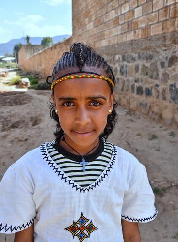 Girl in Adigrat, Ethiopia