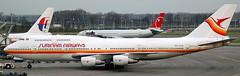 Boeing 747-306 PZ-TCM (707-348C) Tags: amsterdam passenger boeing schiphol ams boeing747 airliner jetliner eham slm surinamairways pztcm b743