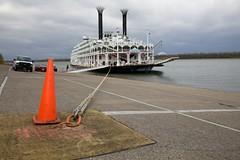 Boat cone (string_bass_dave) Tags: boat ship kentucky riverboat steamship paducah canonef24105mmf4lis