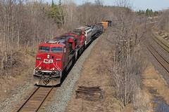 CP 8870 - 551 (railroadcndr) Tags: railroad ontario london train spring engine railway locomotive lobo canadianpacific cp ge cpr freight crude crudeoil komoka es44ac cpwindsorsub cp8870 cp551 cplobo