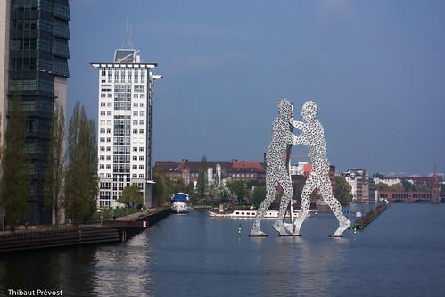 Moderne Skulptur Molecule Man, Jonathan Borofsky