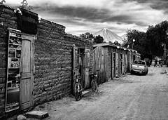 San Pedro de Atacama Street II (sLorenzi) Tags: chile street city urban bw monochrome san pedro atacama vulcan