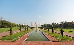 A must: Taj Mahal