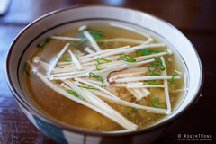 20150505-34-Miso soup at Cuisine Asiatique Momo in Montreal (Roger T Wong) Tags: travel food canada japanese soup miso quebec montreal enoki 2015 sigma50mmf28exdgmacro sigma50macro lunchm rogertwong sonya7ii sonyilce7m2 sonyalpha7ii cuisineasiatiquemomo
