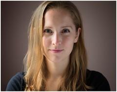 Jess's Linkedin Portrait (sorrellbruce) Tags: beautiful beauty fuji windowlight younglady 56mm photoninja colorefexpro simplysuperb fujixt1