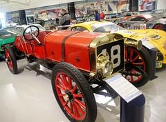 Austin 100HP Grand Prix (MJ_100) Tags: car museum racecar austin grandprix vehicle racer racingcar gaydon classiccarshow motormuseum 100hp