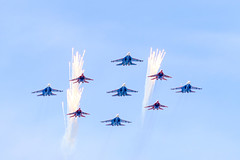 Su-27 -Flanker-B- MiG-29 -Fulcrum- (.su) Tags: force air 9 victory parade russian mig29 2015 su27 fulcrum     29 27  flankerb 09052015