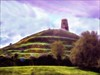 Glastonbury Myth and Mysticism (jo92photos) Tags: photoshop edited creative glastonbury folklore somerset watercolour legend myth mysticism leylines chalicewellgarden isleofavalon isleofglass fractalius