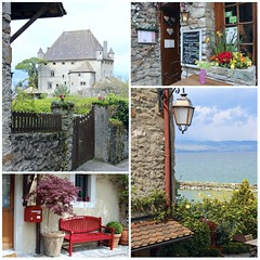 French chic (Maitri away and mostly offline) Tags: france castle village medieval charming lakegeneva beutiful yvoire