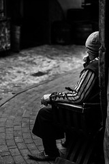 """""""Man from the past"""" (ELMARS LAUSKIS) Tags: street people blackandwhite man black men mystery canon photography moody uncle streetphotography medieval story mysterious past elmars elmrs 1200d lauskis"""