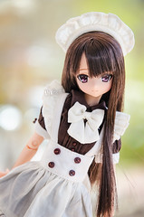 Maid (Alix Real) Tags: pink black anime girl la outfit doll dolls m kawaii bjd dollfie pure mode maid neemo yuzuha azone azonedoll blackxpink azonejp azoneint