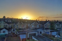 City sunset (Nige H (Thanks for 4.6m views)) Tags: city houses windows sunset england bath rooftops citysunset