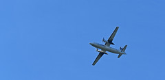 One flew over.... (MWBee) Tags: warrington nikon cheshire aeroplane d750 walton fokkerf50 oovlm mwbee