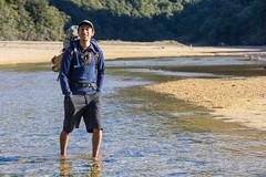 River crossing? (Mi-chi Huang) Tags: beach lowtide abeltasman rivercrossing