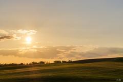 Raking light (Stphane Slo) Tags: sunset france nature clouds landscape pentax hiver rhne nuages paysage campagne printemps hdr goldenhour rayondesoleil rhnealpes pentaxk3ii