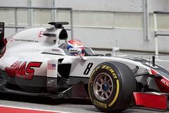 F1 Testing Spain 2016 (Adrian Brittlebank) Tags: barcelona canon 1 spain mark f1 testing formula 5d catalunya haas circuit romain motorsport 2016 redring grosjean