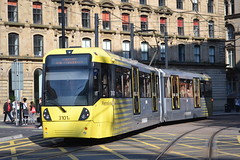 Manchester Metrolink 3101 (Will Swain) Tags: seen manchester piccadilly gardens 12th may 2016 greater city centre north west bus buses transport travel uk britain vehicle vehicles county country england english m5000 metrolink 3101