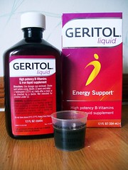 Geritol Tonic (JSF0864) Tags: bottle label package supplement nutrition vitamin geritol