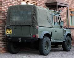 C597 XAH (Nivek.Old.Gold) Tags: rover land 1985 90 softtop 3528cc