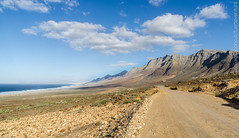 On the (long) road to Cofete! - Fuerteventura (Captured.Light) Tags: street sea wild panorama naturaleza seascape mountains love nature way landscape nikon carretera fuerteventura free playa canarias passion canarian oeste naturelover canarie cofete gianluigi iacono d7000