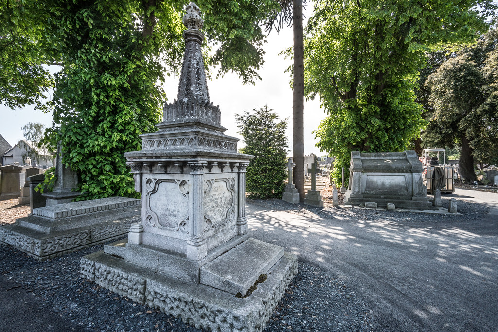 MOUNT JEROME CEMETERY AND CREMATORIUM IN HAROLD'S CROSS [SONY A7RM2 WITH VOIGTLANDER 15mm LENS]-117095