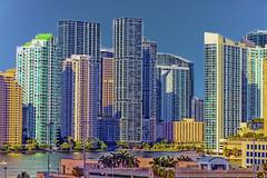 View of downtown Miami, Florida, U.S.A. / The Magic City (Jorge Marco Molina) Tags: city usa building cosmopolitan downtown cityscape realestate metro florida miami highrise residential metropolitan condominium centralbusinessdistrict sunshinestate miamidadecounty