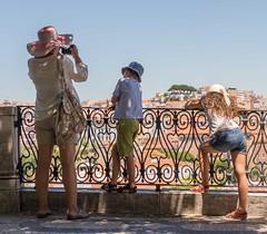 View, Viewed, Viewers. (Chris Willis 10) Tags: lisbon europe portugal people watching view viewed viewers