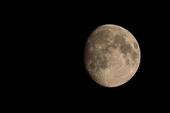Tonights moon (daledare17) Tags: moon zoom craters moonrise astrophotography nightsky summersky