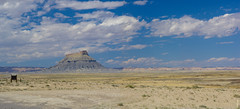 Factory Butte (@ViGoo') Tags: panorama usa utah capitolreef lieux hanksville