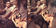Landslide.. (Sistine Kristan (Sisely) - Toolbox Chicks) Tags: deamful event secondlife mesh blog fashion pose summer beach tableau vivant dead dollz gacha bikini couple sl epiphany