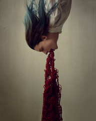 """""""Gushing wounds"""" (Adi Korndrfer) Tags: conceptual fineart selfportrait 366project"""