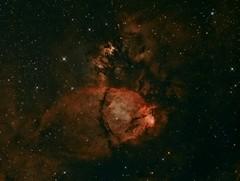NGC896 - The North Bear Nebula (CSky65) Tags: northbear fishhead nebula cassiopeia hearthnebula ngc sbig astrophotography astroimaging orion atlas astrotech fvas tcaa nsa lee illinois astrometrydotnet:id=nova1669913 astrometrydotnet:status=solved
