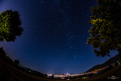 Assisi (--marcello--) Tags: assisi umbria italy longexposure landscape city night stars