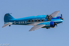 Avro Anson C.19 - Old Warden Edwardian Pageant 2016 (harrison-green) Tags: gister old warden shuttleworth collection air show airshow 2016 edwardian pageant aircraft aviation world war 2 two ii display shgp steven harrisongreen photography canon eos 700d sigma 150500mm 18250mm de havilland comet racer plane race grosvenor house mew gull outdoor vehicle airplane tiger 9 nine moth biplane trainer jet miles magister glider fauvel av36 airliner avroe avro anson 19 nineteen c19