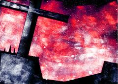 Campo Santo (rodrigo okuyama) Tags: estencil stencil assombração ghost itariri