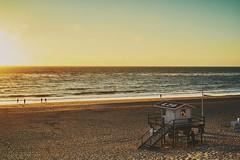 Sundown at the beach (markus.homann) Tags: sylt westerland beach ocean sea seascape sundown sunset northsea baywatch sky hsv