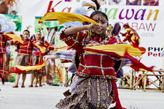 Promoting the rich culture of the Lumad and Muslim tribes in Davao City. (carolineespejon (New Account)) Tags: festivals kadayawan 2016 philippines asia davao asian city culture dance activities streetdancing group street celebration lumad muslim kadayawan2016 kadayawanfestival2016 indakindaksakadalanan manobo bagobo