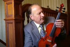 The violin maker (candiceshenefelt) Tags: violin wood art artist man husband person