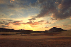 Bardena Sur (Gure Elia) Tags: bardenas landscape sunset atardecer summer september canoneos5dmarkii canon1740l