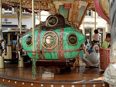 Kapitn Nemos U-Boot (onnola) Tags: metz lothringen frankreich lorraine france alsacechampagneardennelorraine moselle karussell carousel carrousel uboot submarine
