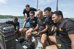160831-N-CW570-019 (U.S. Pacific Fleet) Tags: humanitarianmineaction mc1arthurgwainmarquez fleetcombatcamerapacific ctf75 eodmu5 explosiveordnancedisposalmobilefive srilanka navydivers srilankadivers srilankahma combatcamera navy usn 7thfleet pacom eod masscommunicationspecialist trincomalee lk