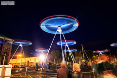 Revenge of the Tripods (RichardBeech) Tags: tripods aliens invasion robots art installation chorus raylee weymouth dorset event music light haunting seaside uk england canon