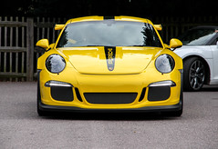 2016 Porsche 911 GT3RS. (demented_b) Tags: 2016 porsche 911 gt3rs icons by the lake virginia water surrey german yellow autoiconica supercar