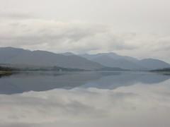 Mirror like Loch Eil