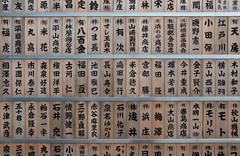 characters (M00k) Tags: tags characters wood fishmarket tsukiji tokyo japan smalltemple