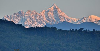 Morning light on Jopuno peak.