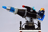 Fort Raid laser cannon (Oky - Space Ranger) Tags: lego fort space prison pirate imperial raid outpost bluecoat