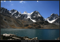 Condoriri (HimalAnda) Tags: mountain lake snow montagne lac peak bolivia pic glacier neige bolivie condoriri eos400d canoneos400d stéphanebon
