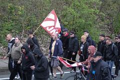 Am 01.05.2015 fand in Neubrandenburg die 1. Mai Demo der NPD-Nazis statt und wurde von Gegenprotest massiv behindert. (Hans Schlechtenberg) Tags: demo 1 nazis npd 1mai mecklenburgvorpommern neubrandenburg rassismus hansschlechtenberg mvfralle 1mnb